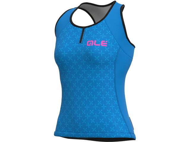 Alé Cycling Solid Helios Tank Top Women, azul